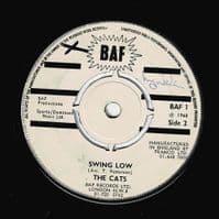 THE CATS Swan Lake Vinyl Record 7 Inch BAF 1968